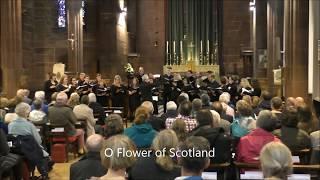 Flower of Scotland (Choir) with lyrics