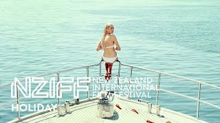 In this shimmering, controversy-stoking debut from danish director isabella eklöf a gangster's trophy girlfriend puts her body on the line for an aegean holi...