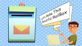 How to Make Letter Box from Recycling Paper Box