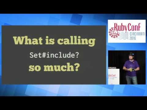 RubyConf 2016 - Slo Mo by Richard Schneeman