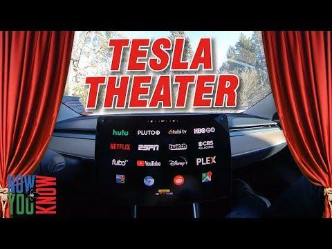 Tesla Time News - Tesla Theater!