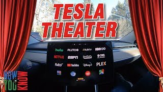 Tesla Time News - Tesla Theater!