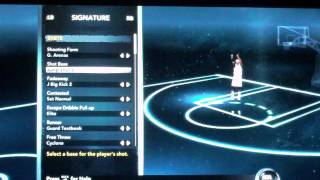 NBA 2k12 My Player 1st Game on Knicks 2nd Half + Drills and Editing Player