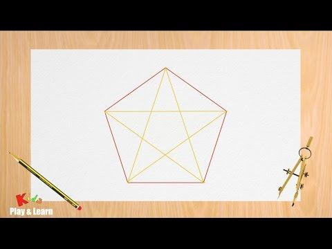 Disegnare Una Stella Di Natale.Come Disegnare Una Stella Perfetta Con Il Compasso Disegnare Una Stella A Cinque Punte