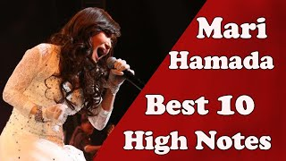 Mari Hamada 浜田麻里- Best 10 Live High Notes!