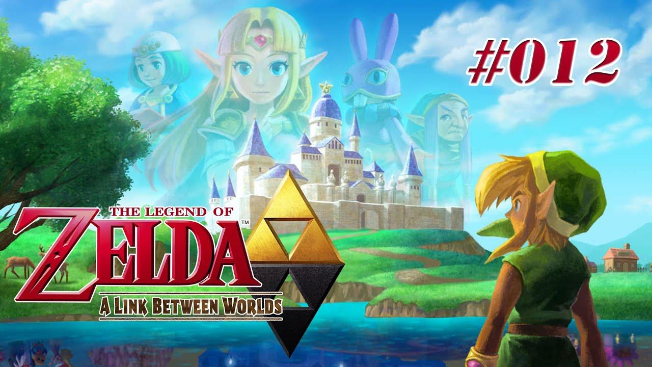Lets Play Zelda Link Between Worlds 012 Mama Maimai Youtube
