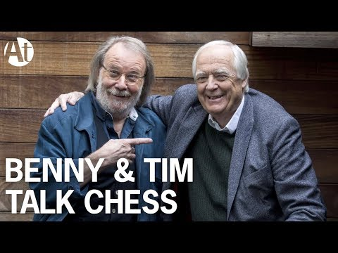 Benny Andersson & Sir Tim Rice talk Chess...