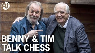 Benny Andersson & Sir Tim Rice talk Chess The Musical on BBC Andrew Marr Show #ABBA #interview #2017