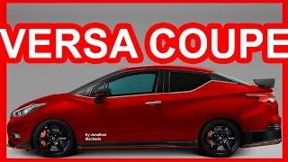 PHOTOSHOP All-New 2019 Nissan Versa Coupe @ Almera Sunny March Micra Sedan #NISSAN