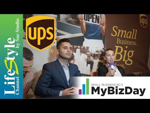 UPS Canada On LifeStyle Channel #MyBizDay