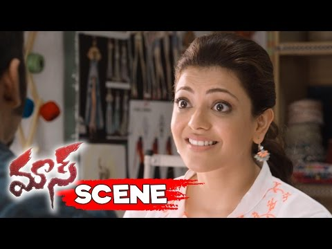 Dhanush Proposes Kajal And Says Sorry - Funny Love Scene - Maari Movie Scenes