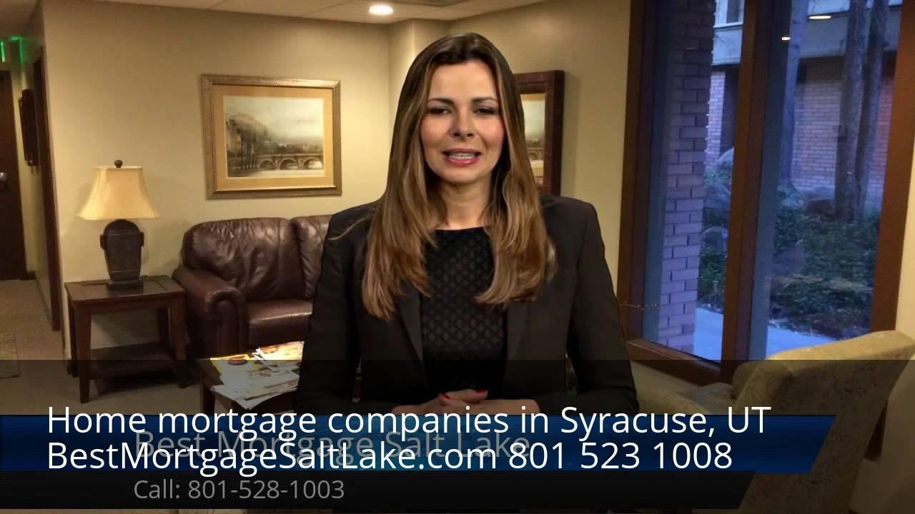 Home mortgage lenders Syracuse, UT - YouTube