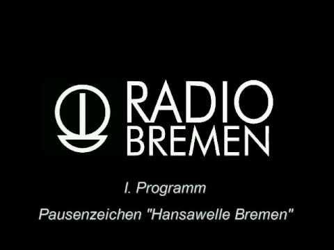 """📻 RADIO-PAUSENZEICHEN - Heute: """"HANSAWELLE BREMEN"""" (70er Jahre)"""