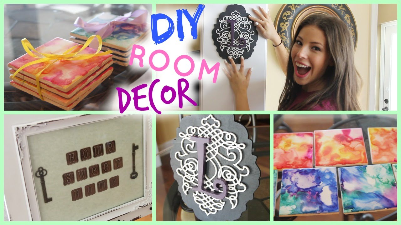 diy room/apartment decor ♡ cute & cheap! - youtube