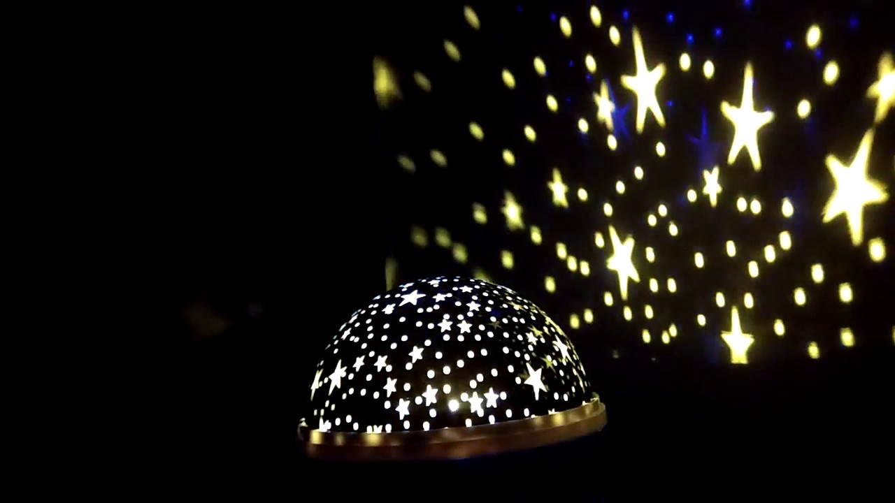 Star Moon Light Rotating Projector Lamp Youtube