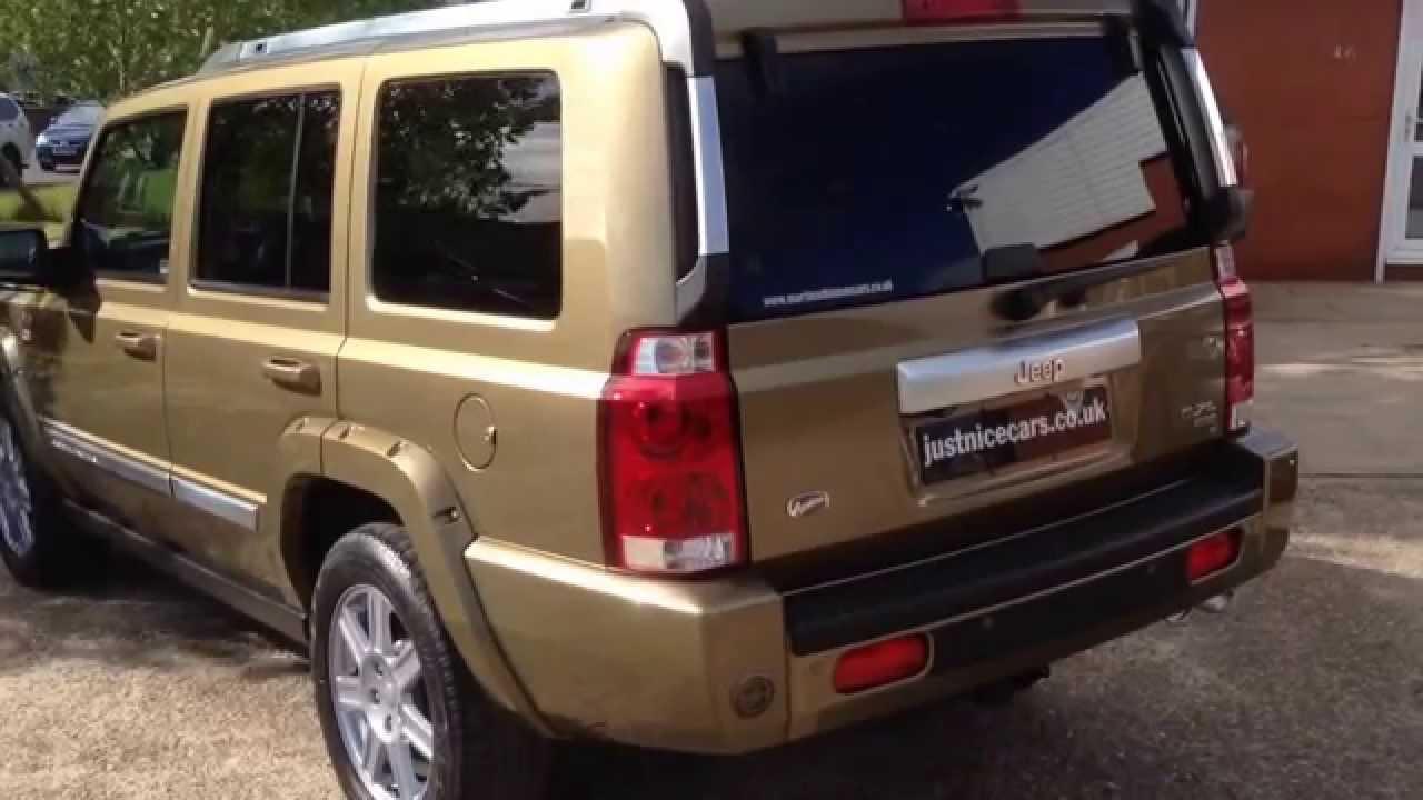 2009 59 jeep commander overland 5 7 v8 hemi 7 seater lpg sorry now sold