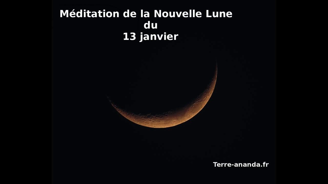 Méditation de la nouvelle lune 13 janvier 2021 - YouTube