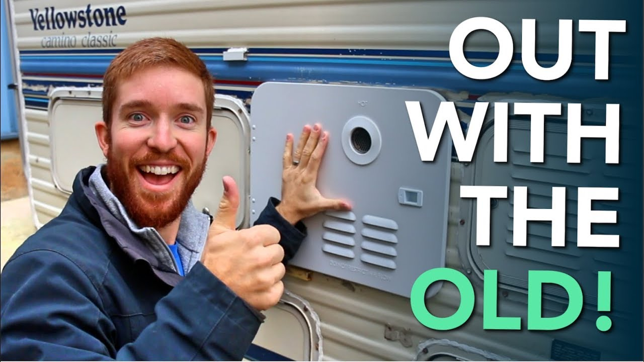 Installing A New Girard Tankless Instant Rv Hot Water Heater Youtube Panel Wiring Diagram On Connecting Subpanel To Main 4 Wire