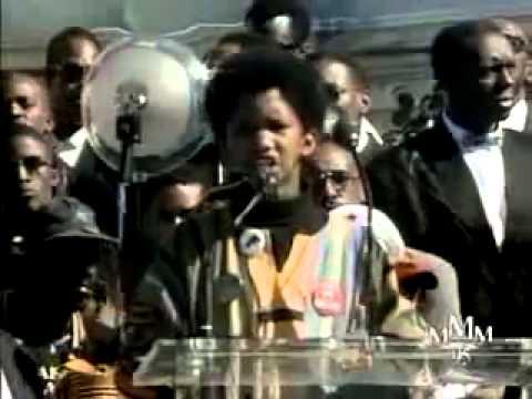 Ayinde Jean Baptiste  MILLION MAN MARCH 1995