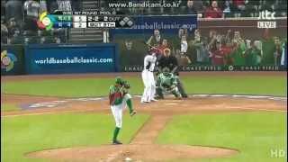 [2013 WBC R2] USA vs Mexico (Highlights)