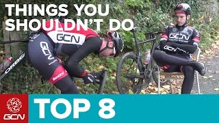 Basic Cycling Mistakes – 8 Things Cyclists Shouldn