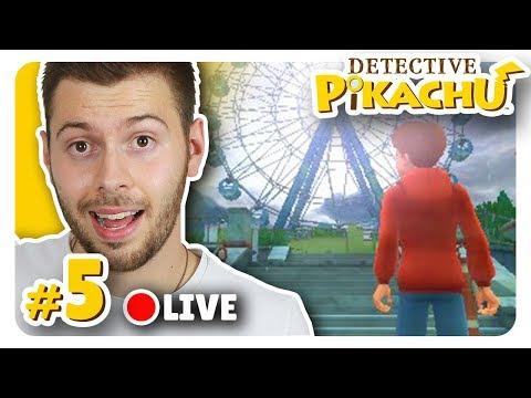 LIVE - DETECTIVE PIKACHU #5 - Un Disneyland abandonné ! - Nintendo 3DS