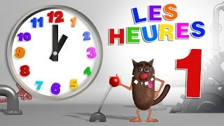 Apprendre Aux Enfants à Lire L'heure  Learn To Read A Clock For Kids, Toddlers - Serie 01