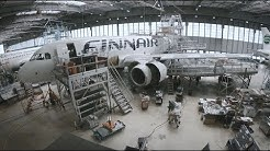 WiFi installation and cabin modification in the narrow body Airbus fleet