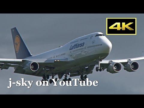 [4K] 1 Hour Plane Spotting Selection 2015-2017 : Tokyo Narita International Airport / 成田国際空港