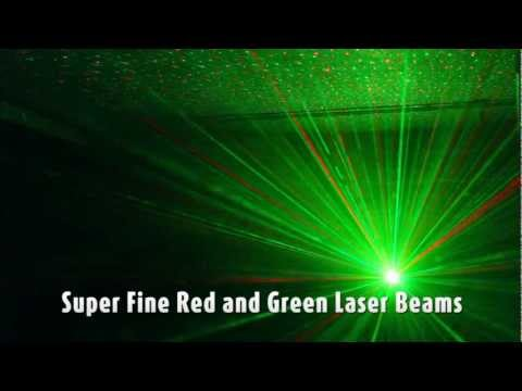 Ekho Light Pixie Ultimate Compact Red and Green Firefly Laser