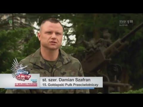 Damian Szafran [założyciel Husarii Gołdap okiem TVP]