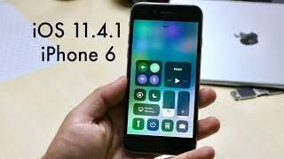 iOS 11.4.1 OFFICIAL On iPHONE 6! (Review)