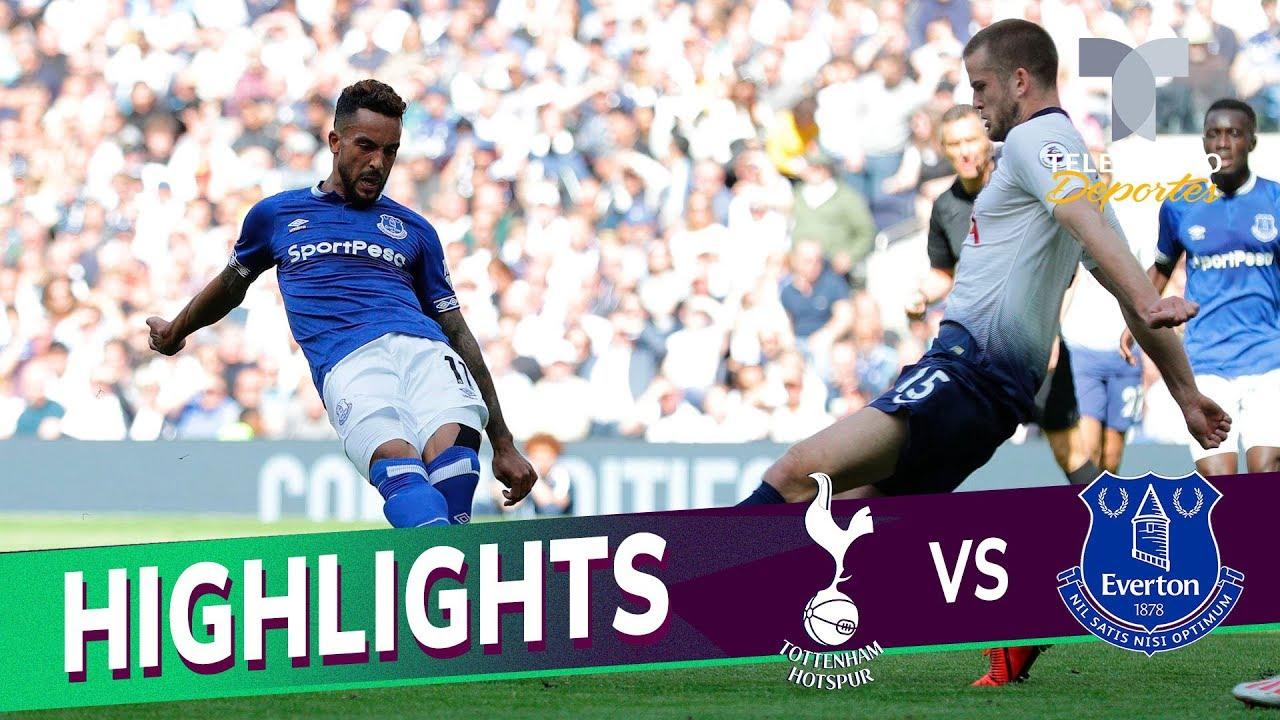 Tottenham vs. Everton: 2-2 Goals & Highlights | Premier League | Telemundo Deportes