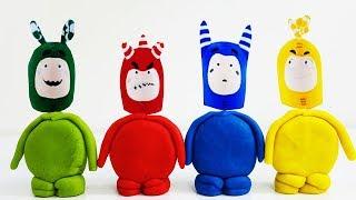 Oddbods New Episodes Of ODDBODS Funny Cartoons For Children Play Doh