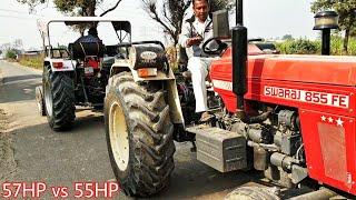 Eicher 557 vs swaraj 855 tractor tochan