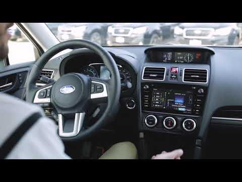 Information On The 2018 Subaru Forester SiriusXM Satellite Radio Glitch