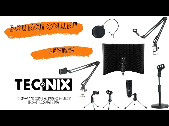 Tecnix New Products Showcase / Review #mic #tabletopstand #boomarm #micstand