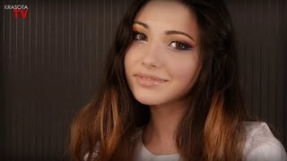 Восточный макияж.Победитель конкурса/Arabic Makeup tutorial Krasotatv(Восточный макияж. Победитель конкурса