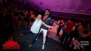 Angelo J Rito & Magna Gopal - Salsa social dancing | Istanbul Int. Dance Festival 2018