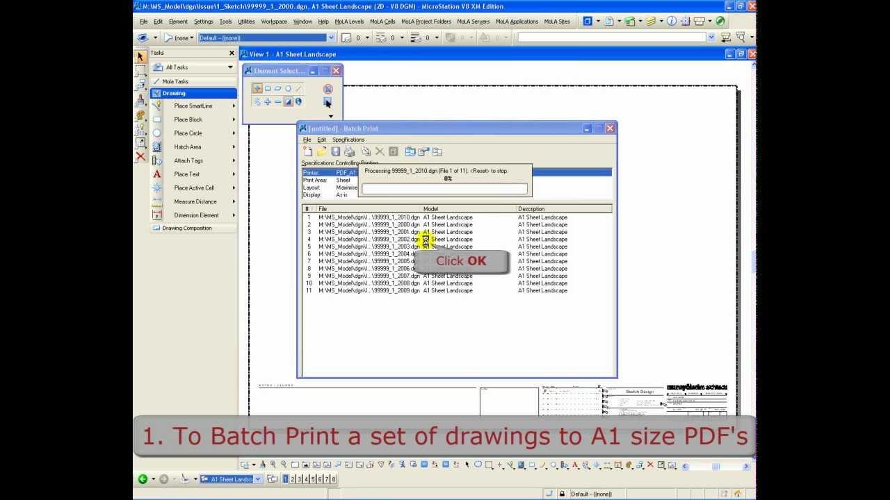 MICROSTATION PDF PLOT WINDOWS 7 64 DRIVER