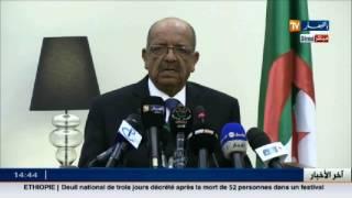 مساهل: وحدة ليبيا ومعارضة أي تدخل أجنبي غير قابلة للنقاش