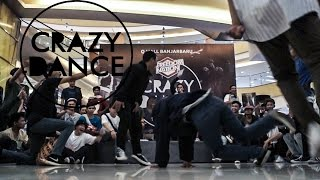 CRAZY DANCE 2015 - LIL CHUCK VS FLOOR MIRACLE GANGZ | SEMIFINAL 3v3 | STRIFE.TV INDONESIA