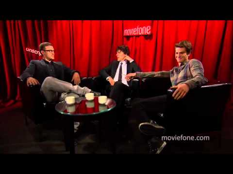 'The Social Network' | Unscripted | Justin Timberlake, Jesse Eisenberg, Andrew Garfield