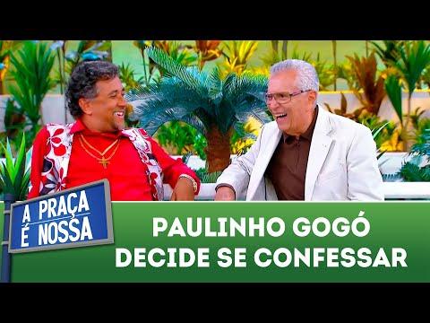 Gogó decide se confessar | A Praça é Nossa (09/08/18)