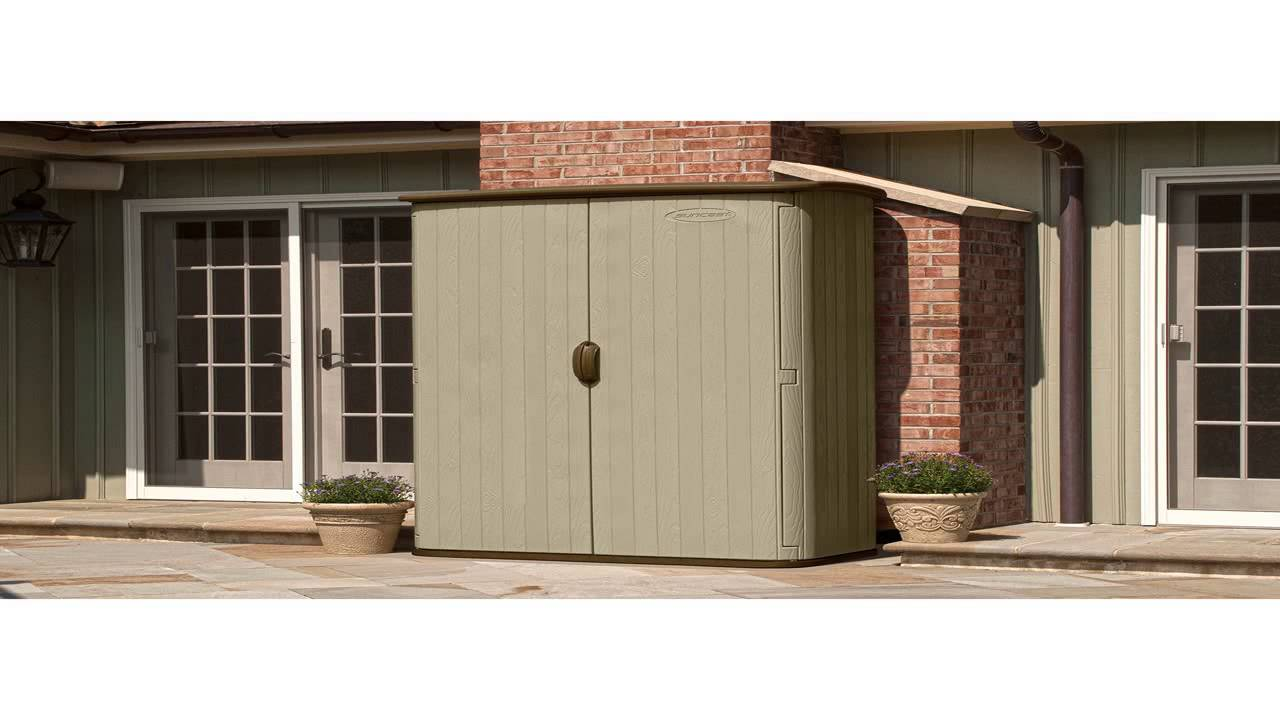 Suncast BMS4500 Large Vertical Storage Shed