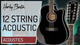 Harley Benton - D200-12BK - 12 String Acoustic -