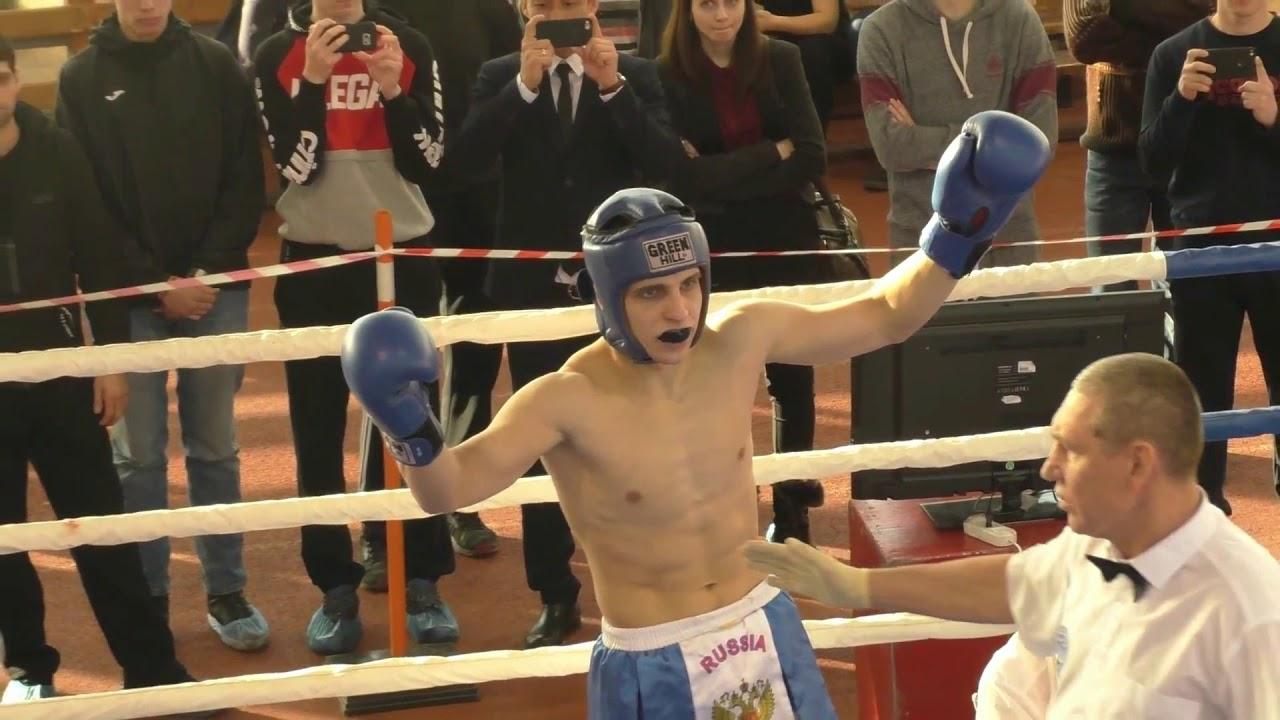 нокдаун кикбоксинг - чемпионат России 2018