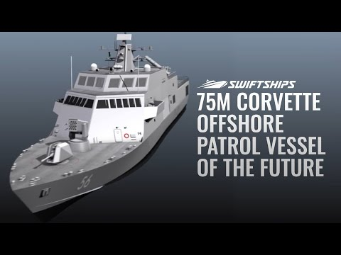 75M Corvette - Offshore Patrol Vessel of the Future