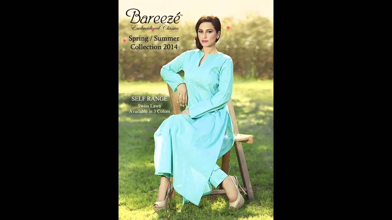 Exclusive Summer Party Wear Dresses for Women By Bareeze - YouTube