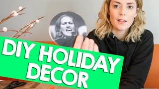 DIY HOLIDAY DECOR + GIFTS + TIPS + MORE // Grace Helbig